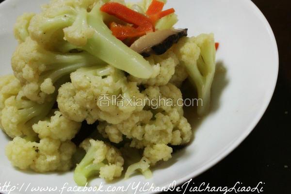 香菇炒花椰菜