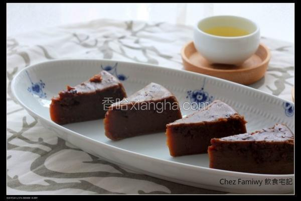 黑糖桂圆燕麦糕