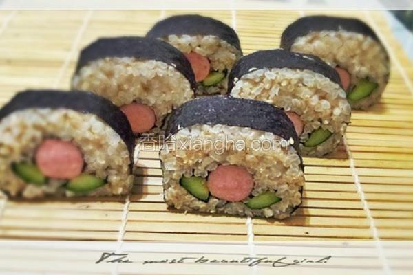 糙米花花寿司