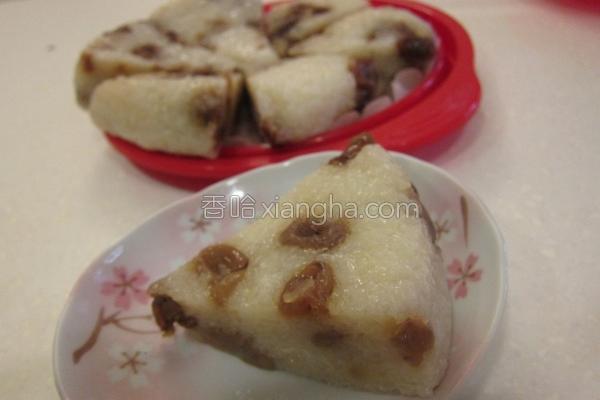 桂圆甜米糕的做法