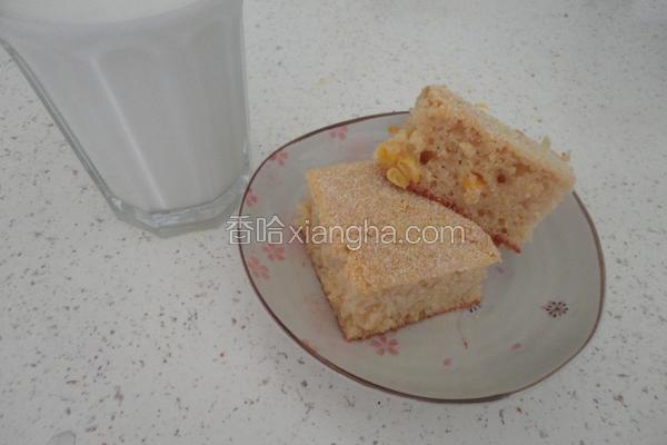 奶油乳酪玉米蛋糕