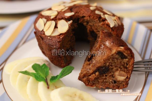 黑糖香蕉蛋糕