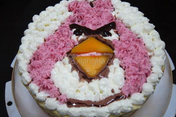蛋奶芒果慕斯蛋糕