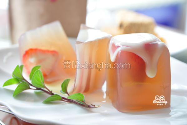 玉润冰清莓果冻