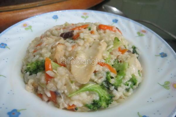 低卡健康蔬菜炖饭
