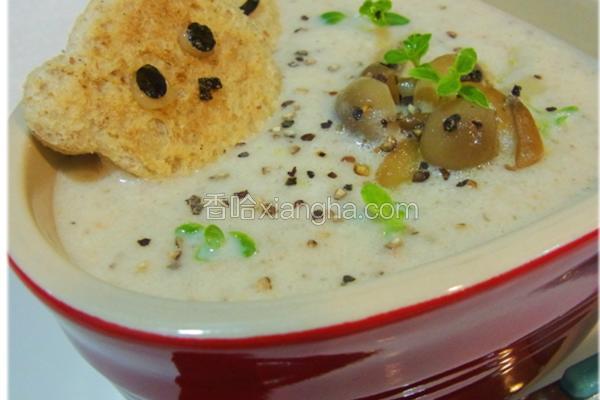 奶油野菇浓汤