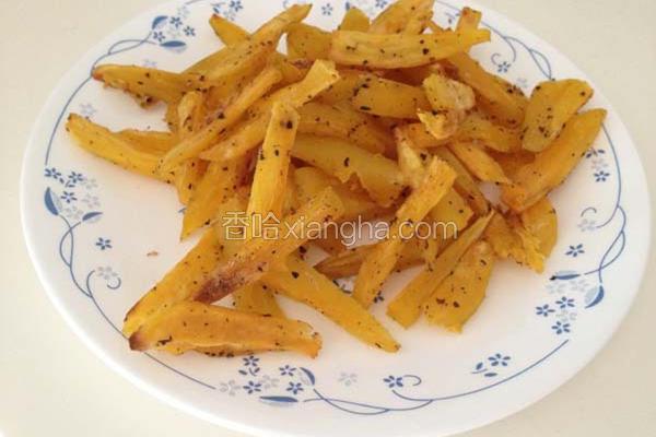 免油锅地瓜薯条