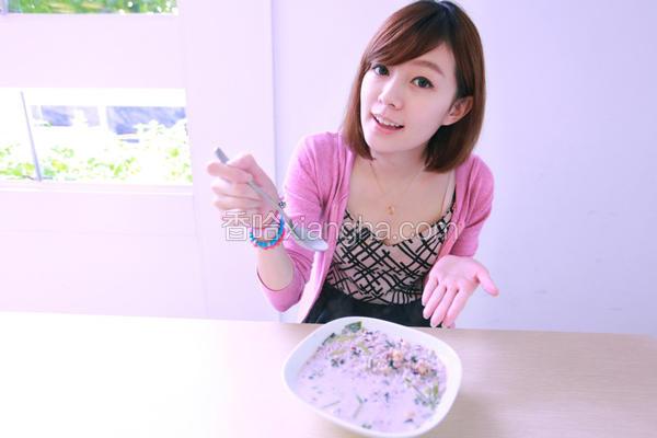 牛奶菠菜粥