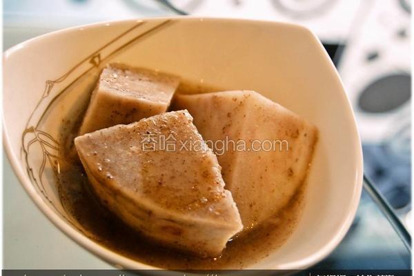 黑木耳芋头甜汤