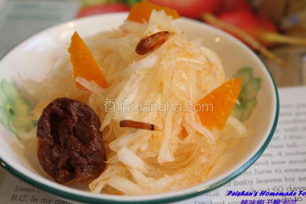 辣味梅子腌泡菜