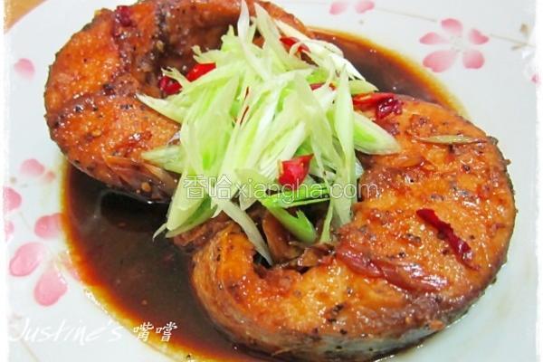 红烧青蒜乌鱼片