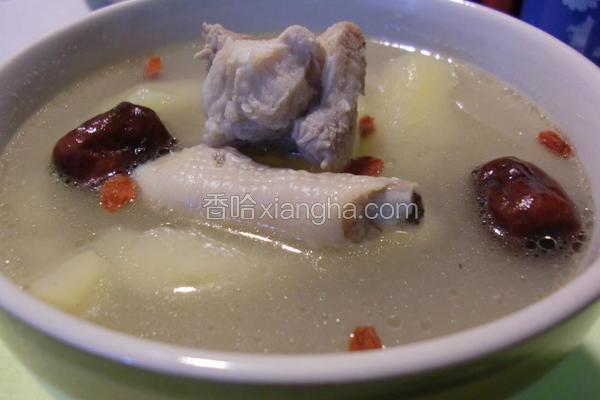 青木瓜凤爪煲汤