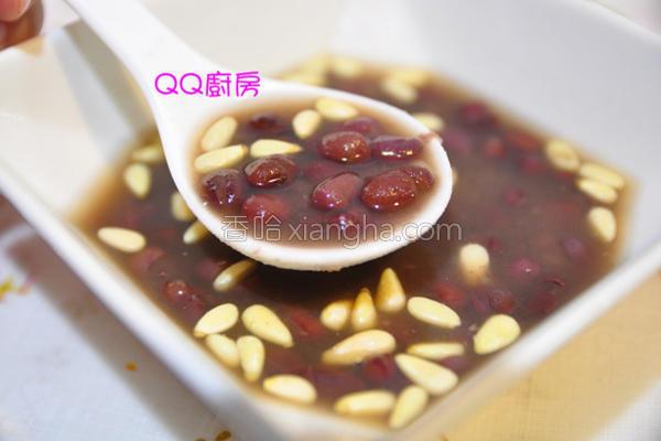 松子红豆汤