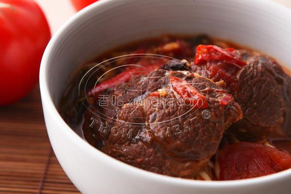 红烧番茄牛肉面的做法
