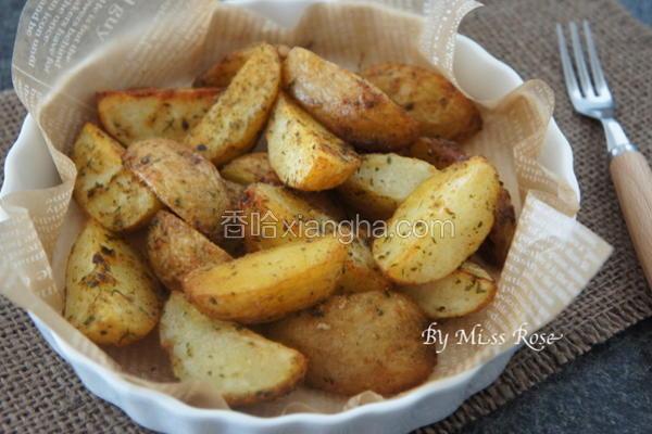 起司香料烤马铃薯
