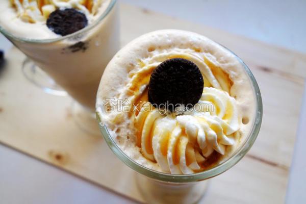 焦糖咖啡冰沙