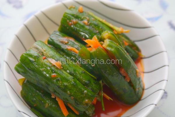 韩式凉拌小黄瓜