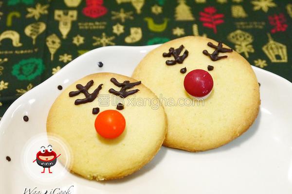 麋鹿造型饼干的做法