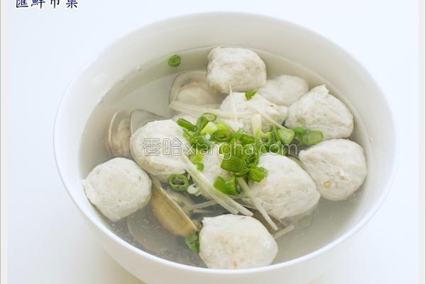 虱目鱼丸汤的做法