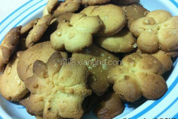杏仁碎片饼干