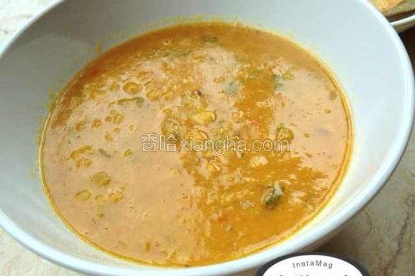 小扁豆咖喱