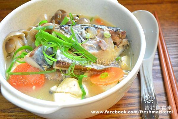 味噌鲭鱼汤