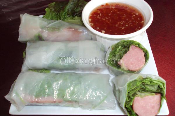 越式猪肉卷