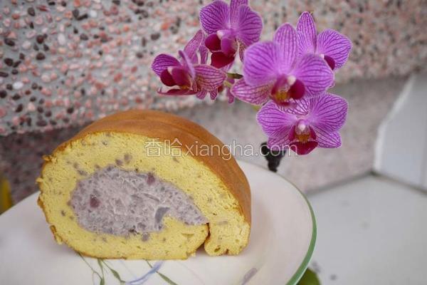 芋香蛋糕卷