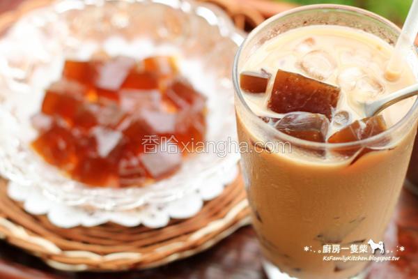 咖啡冻鲜奶茶