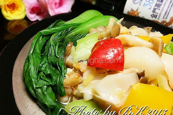 酒香百合炒蟹肉
