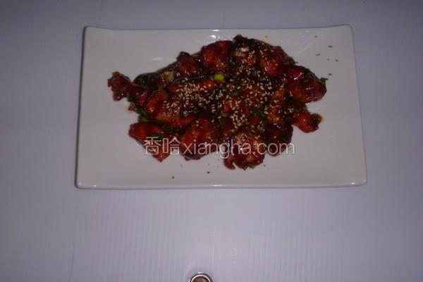 茄汁烩酥鸡