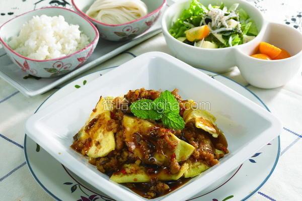 鱼香烘蛋饺