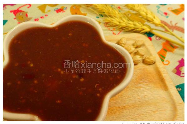 雪莲小米红豆粥