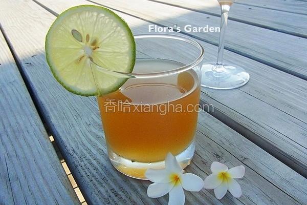 自制柠檬冬瓜茶