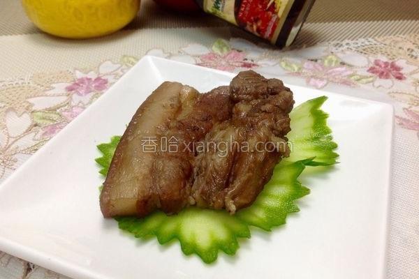 姜烧粟子焢肉