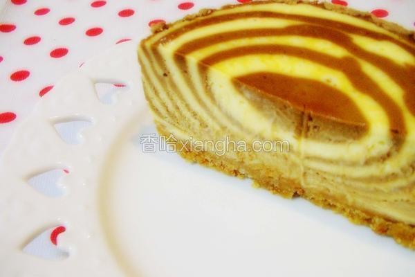 螺旋斑纹起司蛋糕