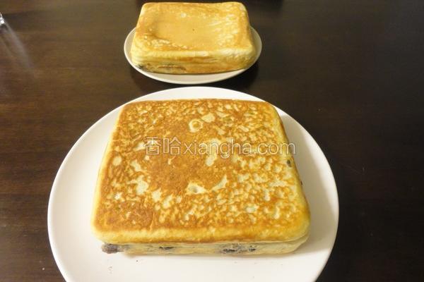 蜂蜜黑豆松饼