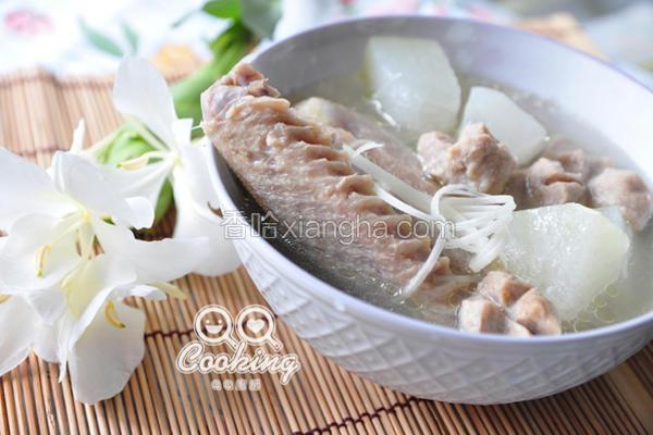 鸭肉炖冬瓜汤