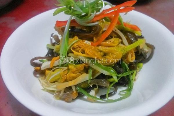 黄花菜拌三丝