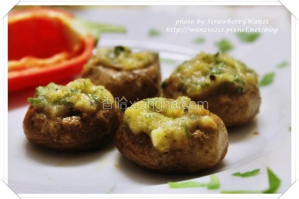 香酥烤蘑菇
