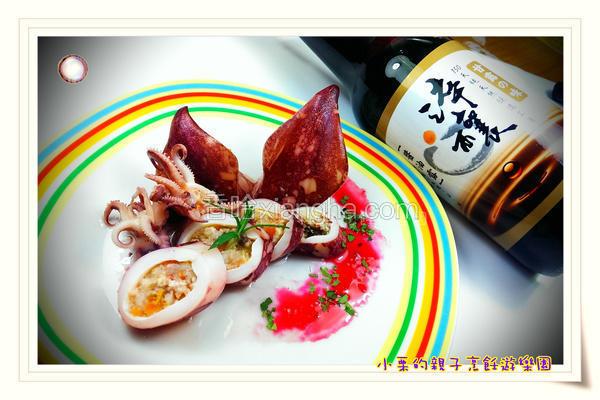 虾泥豆腐乌贼卷