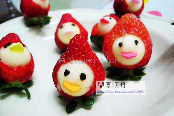 草苺小鸡的做法