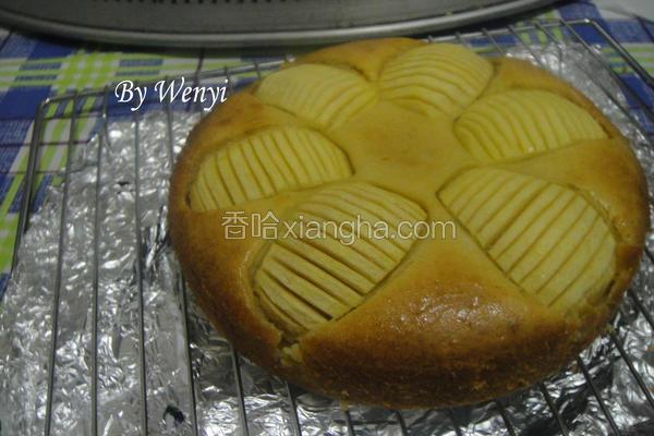 奶油苹果蛋糕