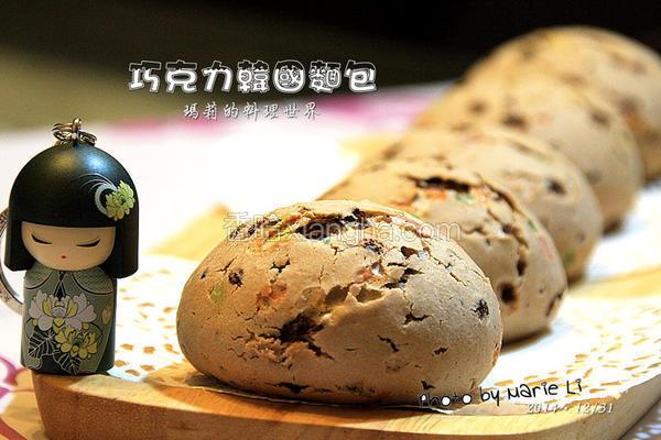 巧克力韩国面包