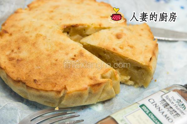 厨房肉桂苹果蛋糕