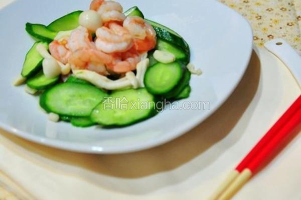 小黄瓜虾仁