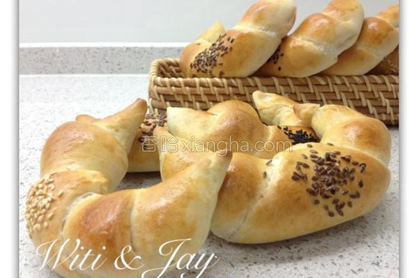 裸麦牛角面包的做法
