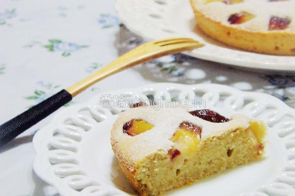 酒渍洋梨红酒蛋糕