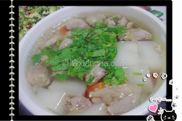 清炖牛杂汤