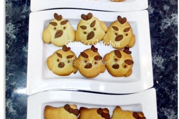 香草牛奶饼干